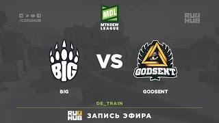 BIG vs Godsent - ESEA Premier Season 24 - LAN Finals - map3 - de_train [mintgod, sleepsomewhile]