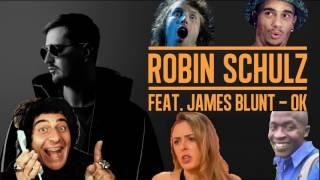 Robin Schulz – OK (feat. James Blunt & YouTube memes)