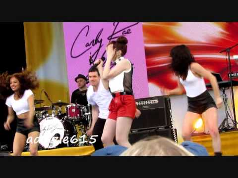 (Live Video) Carly Rae Jepsen  Call Me Maybe  GMA Concert 2013