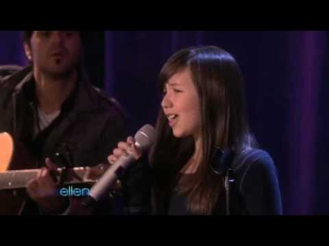 Maddi at the Ellen Degeneres Show