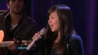 Amazing 11 year old singer Maddi Jane on Ellen Degeneres Show