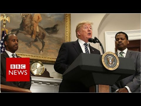 'Mr President, are you a racist?' - BBC News