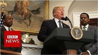 Video 'Mr President, are you a racist?' - BBC News MP3, 3GP, MP4, WEBM, AVI, FLV April 2018