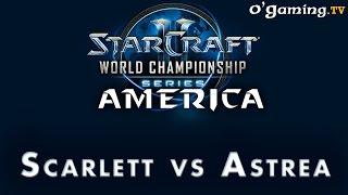 WCS NA Challenger - Day 1 - 4ème BO - Scarlett vs Astrea