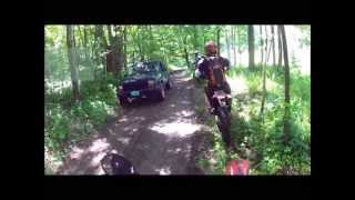 6. RIDING OFF THE GRID, COBB HILL 6 2 2013 (ktm 350 and 450, beta 450rs)