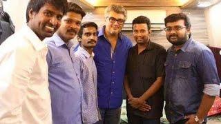 Soori Meets Ajith Alongwith his Family On His Birthday Kollywood News 28/08/2015 Tamil Cinema Online