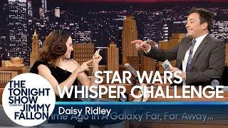 Video Star Wars Whisper Challenge with Daisy Ridley MP3, 3GP, MP4, WEBM, AVI, FLV Januari 2018