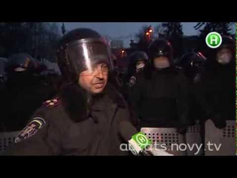 Прямое включение с Евромайдана - Абзац! - 23.01.2014 (видео)