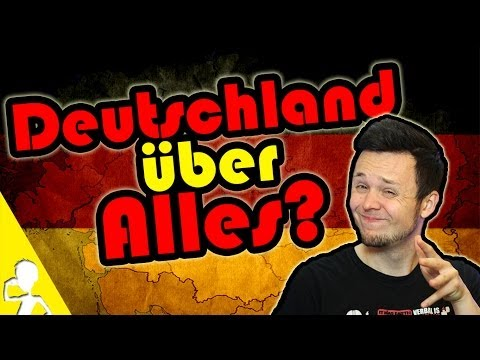 Deutschland - Many people think it's okay to say or sing