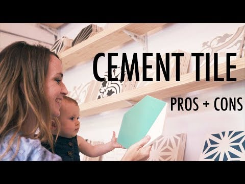 Cement Tile - Pros And Cons