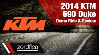 7. 2014 KTM 690 Duke - Demo ride and review