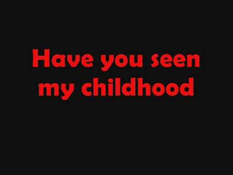 Michael Jackson Childhood lyrics