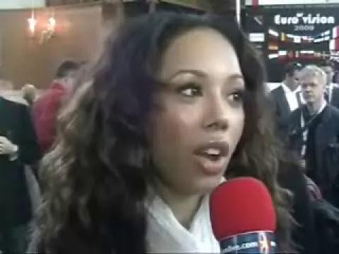 United Kingdom 2009: Interview with Jade Ewen