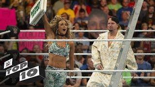 Video Shocking Money in the Bank Ladder Match moments: WWE Top 10, June 16, 2018 MP3, 3GP, MP4, WEBM, AVI, FLV Juni 2018