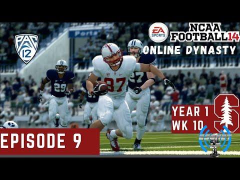 NCAA Football '14 | Stanford Cardinals Online Dynasty | Episode 9 | WK 10 @ BYU (Season 1)