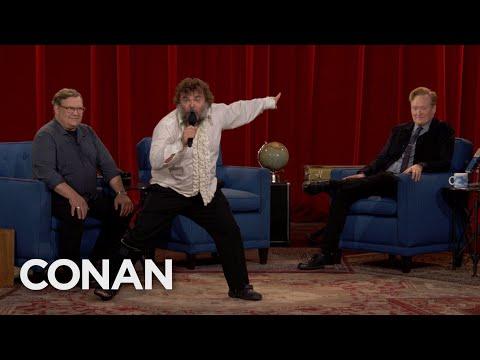 Jack Black Brings The Thunder To CONAN's Final Episode - CONAN on TBS