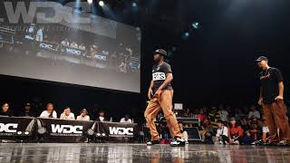 Ness & Poppin C vs BOOGIE NATION (Masao & Ryuzy) – WDC 2019 POPPIN' BEST4