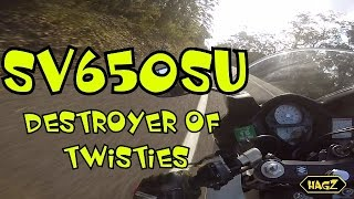 2. 2009 Suzuki SV650SU Review | Best Learner Bike?