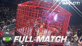 Nonton 10-Man X-Division Steel Asylum Cage Match (TNA Bound For Glory 2008)   IMPACT Wrestling Full Matches Film Subtitle Indonesia Streaming Movie Download