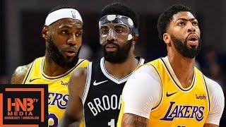 Los Angeles Lakers vs Brooklyn Nets - Full Game Highlights   October 10, 2019 NBA Preseason