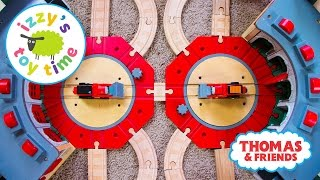 Thomas and Friends DOUBLES TRACK! Thomas Train Pretend Play with Brio | Toy Trains for Kids