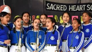 """Glimpses of """"Carol Singing"""" Competition held on 17th December 2016"""