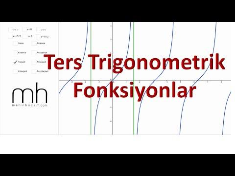 Trigonometri-12 | Ters Trigonometrik Fonksiyonlar | AYT Matematik
