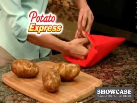 Видео Телемагазин - для кухни Bradex Мешочек для приготовления картофеля в микроволновой печи Potato Express