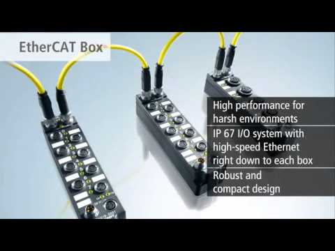 Beckhoff EtherCAT components: Fast, flexible, precise and cost-efficient