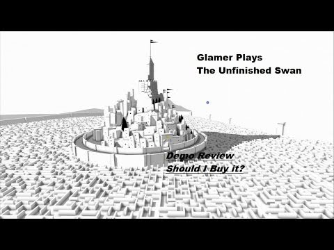 Glamer - This is Demo Review Friday. This is The Unfinished Swan. Buy it for $14.99. Only on Playstation. Should she buy the game? Comment Below! Also comment on what...