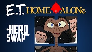 Kevin McCallister from Home Alone gets swapped out with E.T. in this week's Holiday Hero Swap brought to you by HISHE and...