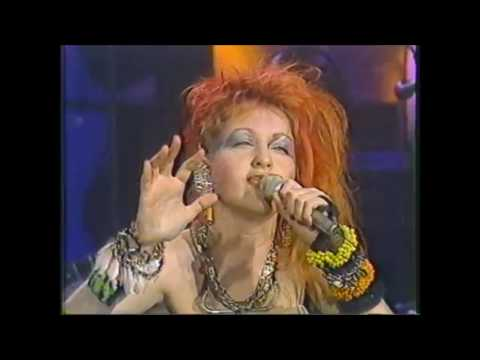 "Cyndi Lauper ""Time After Time"" The Tonight Show - March 1st, 1984"