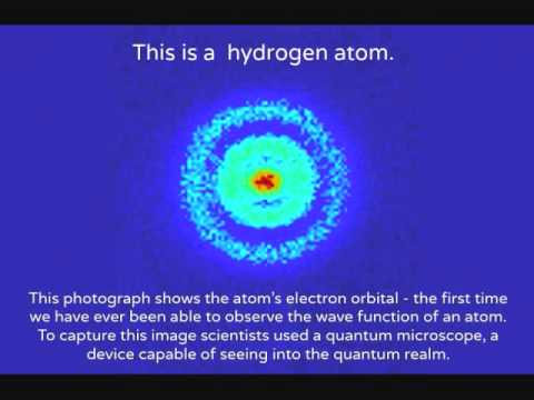 First Picture of the Hydrogen Atom
