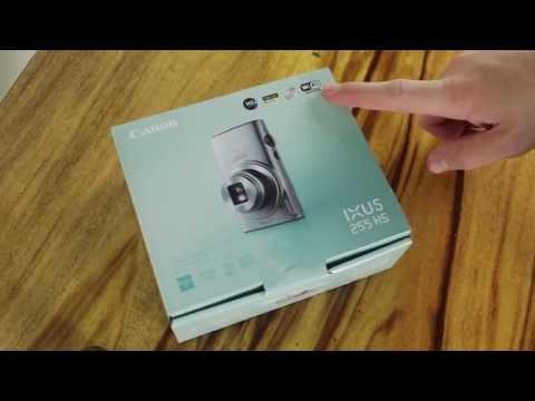Canon IXUS 255 HS Unboxing flip