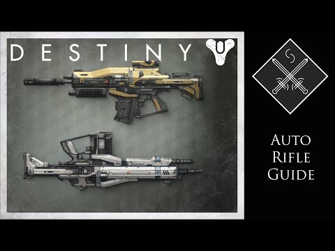 Guide - A look into Destiny's weapons. In this weapon guide video I will be covering Auto rifles including Rare, Legendary and Exotic weapons in this category. I'll also investigate all the upgrades...