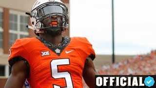 Most Elusive Player in College Football 🔥 Official Justice Hill Career OSU Highlights