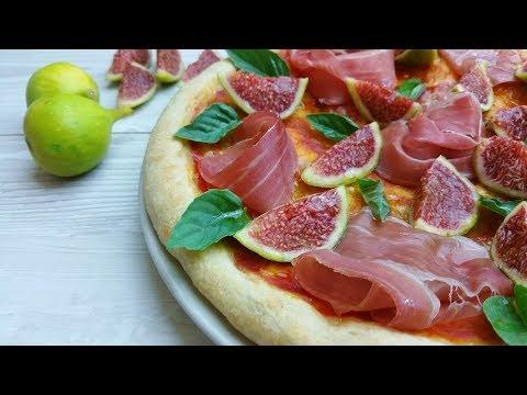 pizza fichi e prosciutto crudo - ricetta facile e veloce