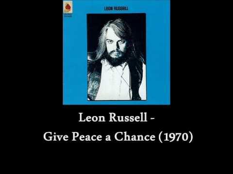 Tekst piosenki Leon Russell - Give Peace a Chance po polsku