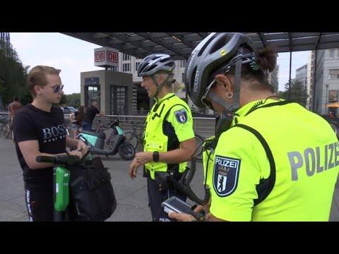E-Scooter-Kontrollen in Berlin: Die Regeln sind noch u ...