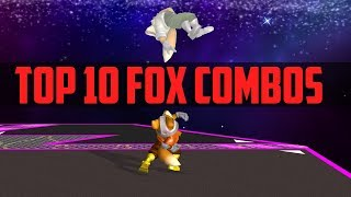 Armada's Top 10 Fox Combos