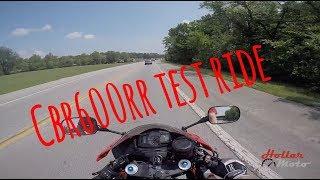 5. honda cbr600rr . test ride