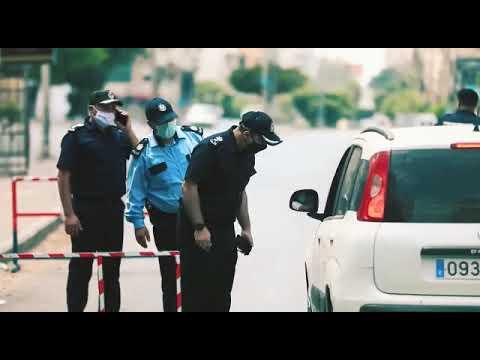 إجراءات شرطة محافظة خان يونس لمواجهة جائحة كورونا