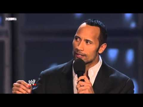 wwe hall of fame 2008-the rock-part 2