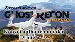 Konvoi aufhalten mit der Drone