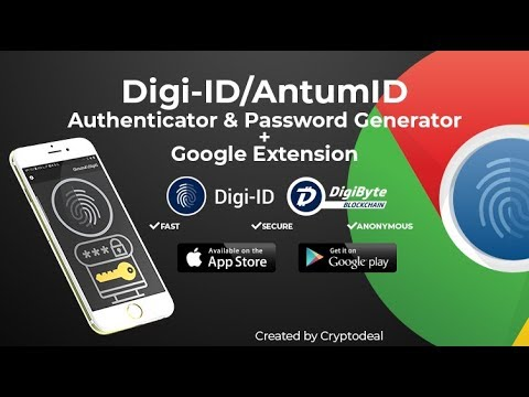 Digibyte - How To Use Digi-id / Antumid Extension