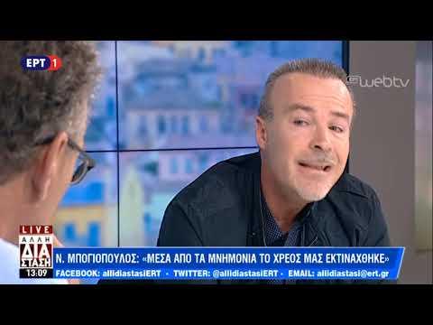 Σχολιασμός της επικαιρότητας με τον δημοσιογράφο Νίκο Μπογιόπουλο | ΕΡΤ