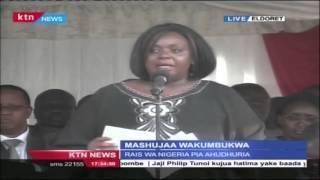 Defence CS Raychael Omamo's Full Speech In Eldoret In Honor Of Kenyan Soldiers Killed In Somalia