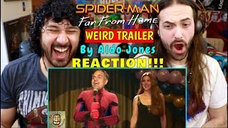 SPIDER-MAN FAR FROM HOME Weird Trailer | FUNNY SPOOF PARODY by Aldo Jones - REACTION!!! by The Reel Rejects