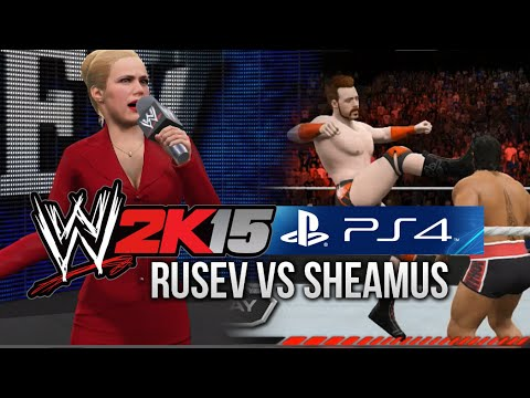 WWE 2K15 (PS4) Rusev w/ Lana vs Sheamus (NEXT GEN GAMEPLAY)