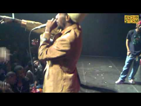 WINKY D live on the african storm sound system Joburg 2010
